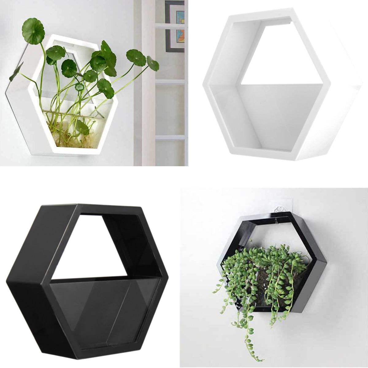 Pot de fleur en Chlorophytum fait main   Acrylique, fait à la main, Scindapsus, Vase de plante hydroponique, décoration moderne pour la maison, le salon