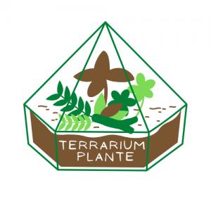 Terrarium plante logo