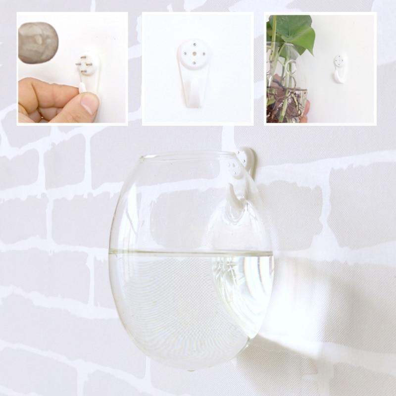 2018 tenture murale verre fleur planteur Vase plante Pot Terrarium maison jardin